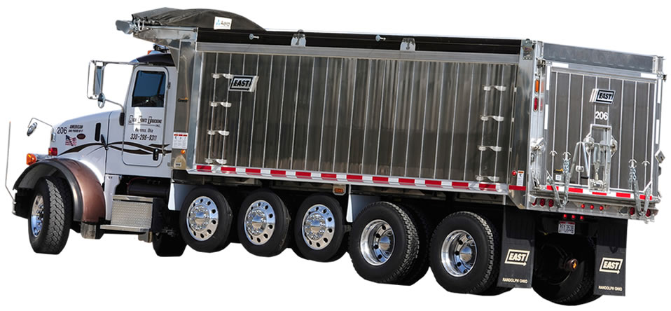 East Manufacturing Aluminum Truck Body