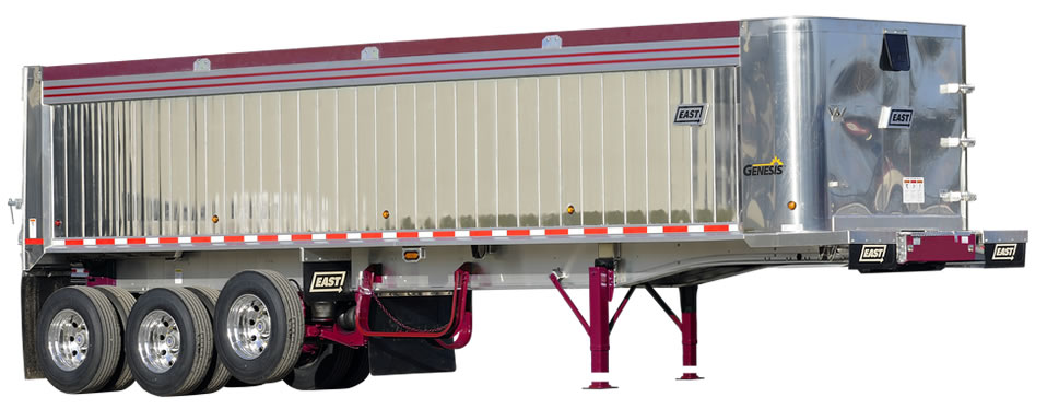 East Manufacturing Frameless Dump Trailer