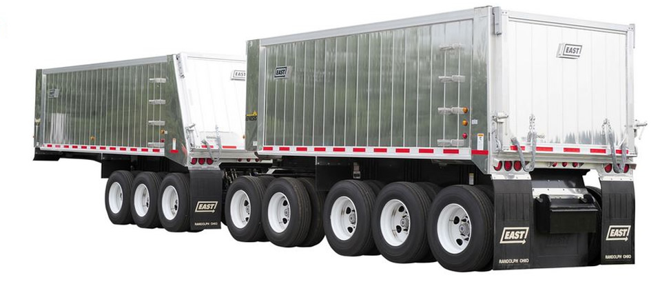 East Manufacturing Dump Trailer