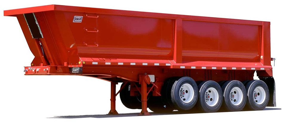 East Manufacturing Steel Dump Trailer
