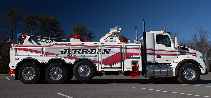JERR-DAN 35-TON JFB INTEGRATED WRECKER