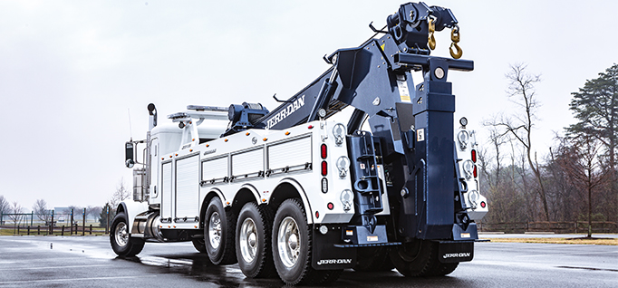 JERR-DAN 50-TON JFB INTEGRATED  WRECKER