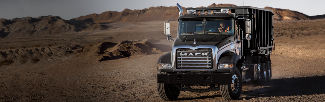 Mack Granite MHD, Mack Granite MHD Series , Mack Truck