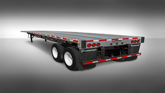 Transcraft Combo Flatbed Trailer